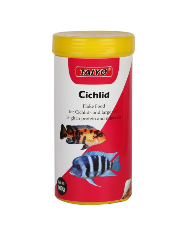 01-9075-Taiyo-Cichlid-Flake-100gm-Cont-(1)