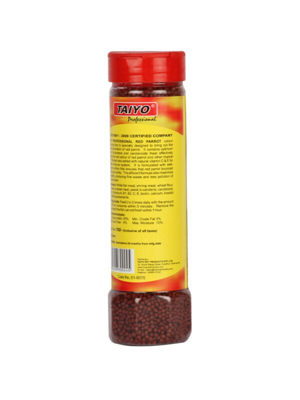 01-6070-Taiyo-Red-Parrot-Fish-Food-100gm-Jar-(2)